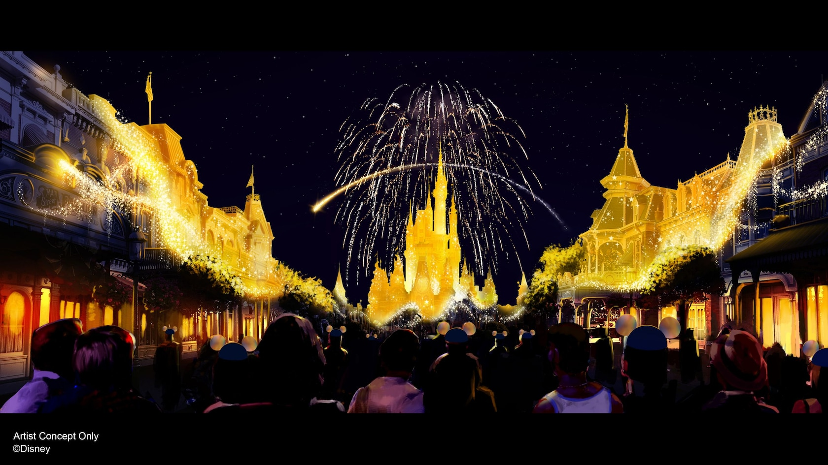 New Disney World Celebrations for the 50th Anniversary